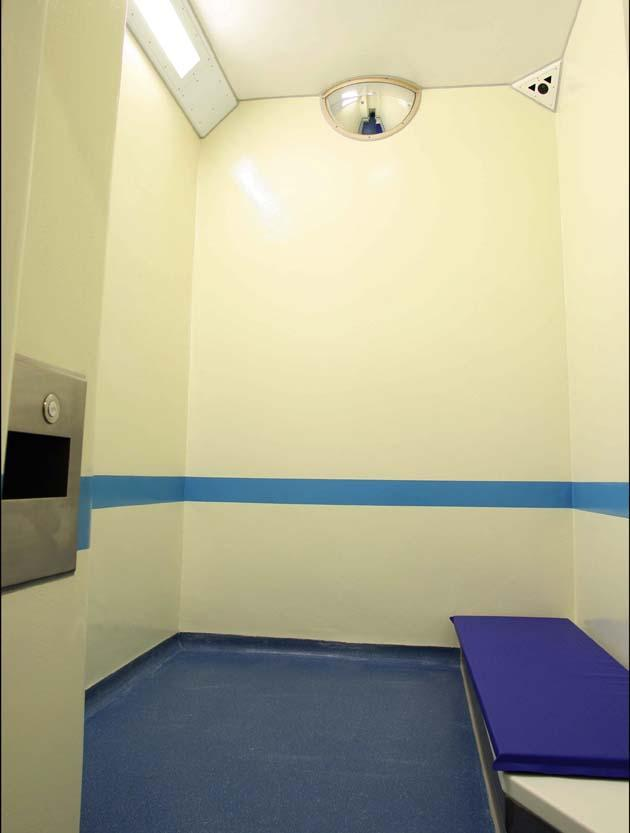 Police & Prison Cell Deep clean